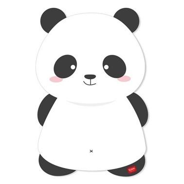 Legami Buzdolabı Magnetli Tahta Panda Renkli